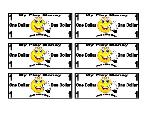 dollar bill coupon template and smiley face on dollar bill