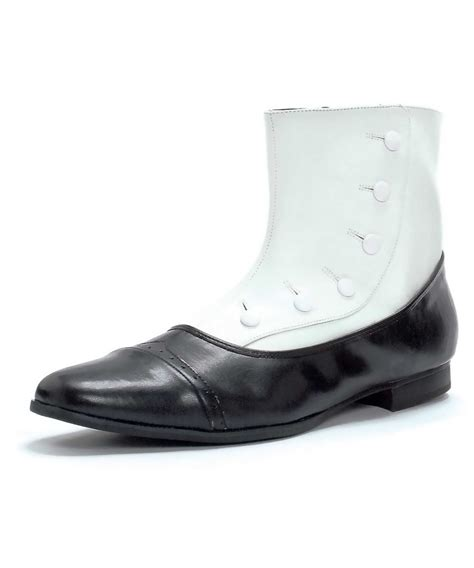 black and white spat shoes costume