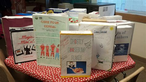 Cereal Book Report
