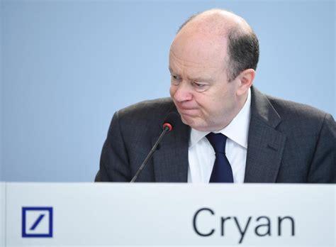 vorstandsvorsitzende deutsche bank deutsche bank keine boni f 252 r vorst 228 nde um cryan welt