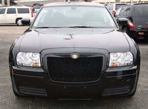 Bentley Grill For 2008 Chrysler 300 Chrysler 300 Black Bentley Mesh Grille