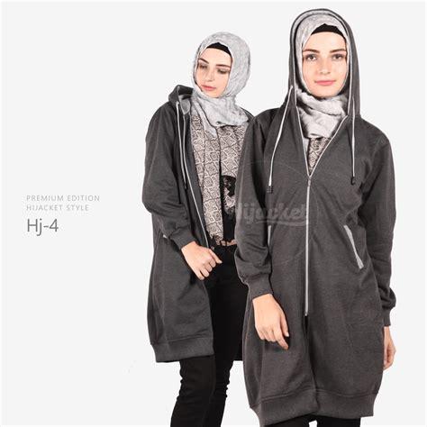 Jaket Hijaber Hijacket Japan Hj Js 1 Abu Tua Maroon Original 3 hj4 hijacket x grey