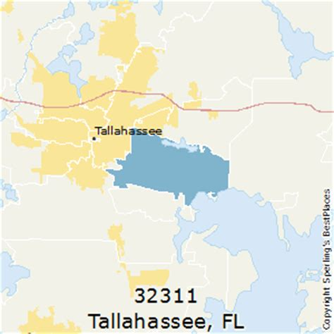 zip code map tallahassee best places to live in tallahassee zip 32311 florida