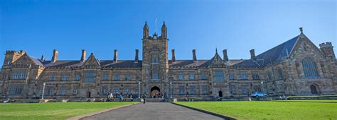 best universities in sydney of sydney world rankings the