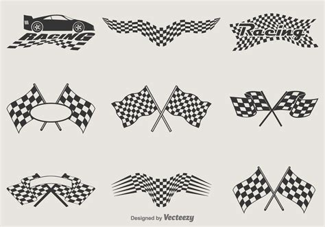free vector racing flags download free vector art stock