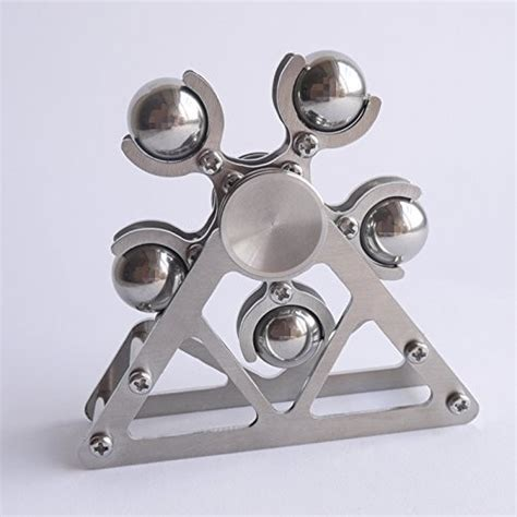 Fidget Spinner 2 Side Sisi Metal Silver Premium Shodz 74 types and styles of edc fidget spinner