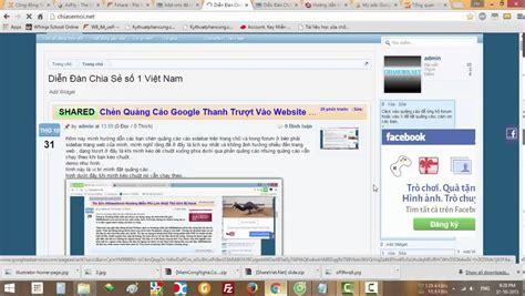 xenforo adsense add on ch 232 n quảng c 225 o google v 224 o website xenforo kiếm tiền