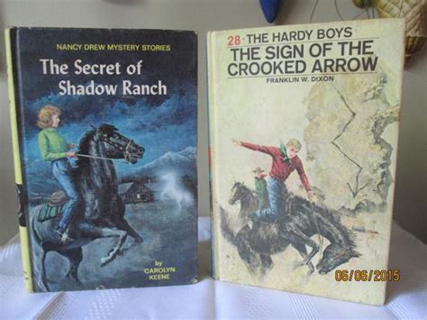 vintage hardy boys mystery book no 5hunting for vintage nancy drew mysterybook the hardy boys book the sign