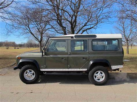defender land rover 1997 1997 land rover defender for sale classiccars com cc