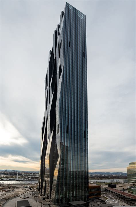 Office Space Designer dc tower by dominique perrault rises above vienna as