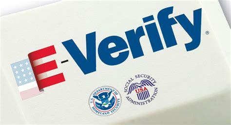 E Verify Search E Verify Triggers Privacy Concerns Politico