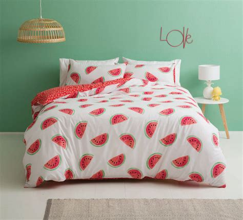 Watermelon Before Bed by Watermelon Single Quilt Cover Set Bedroom Bedroom
