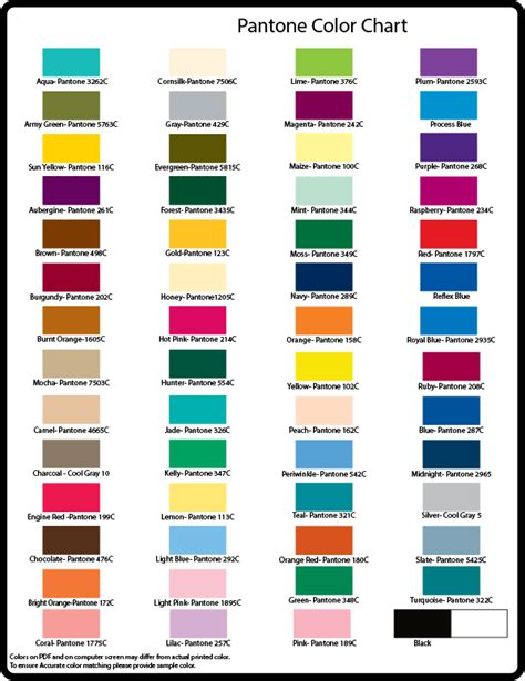 basic color chart basic pantone color chart atkins curling supplies promo
