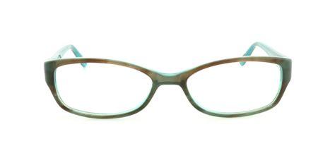 jones new york eyeglasses j214 brown blue 49mm