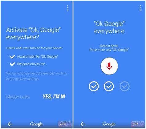 ok google rumor suggests ok google everywhere and new navigation