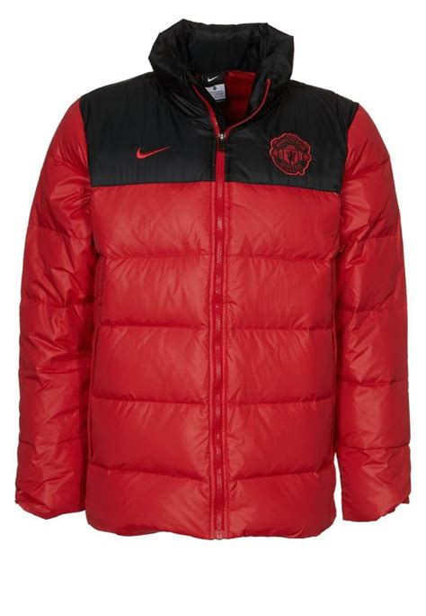man utd bench nike manchester man united utd puffa football duck down