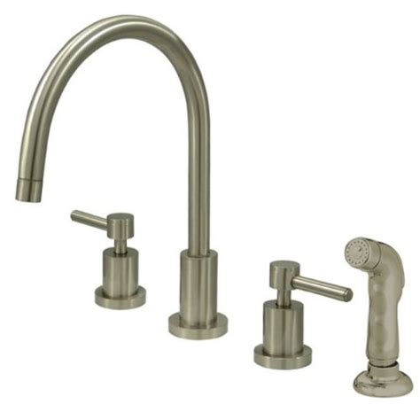 kitchen faucet prices cheap price kingston brass ks8728dl concord