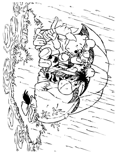 coloring pages with rain coloring page rain coloring home