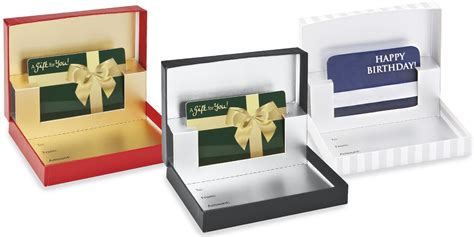 Gift Box Card - gift card boxes wholesale gift card boxes in stock uline