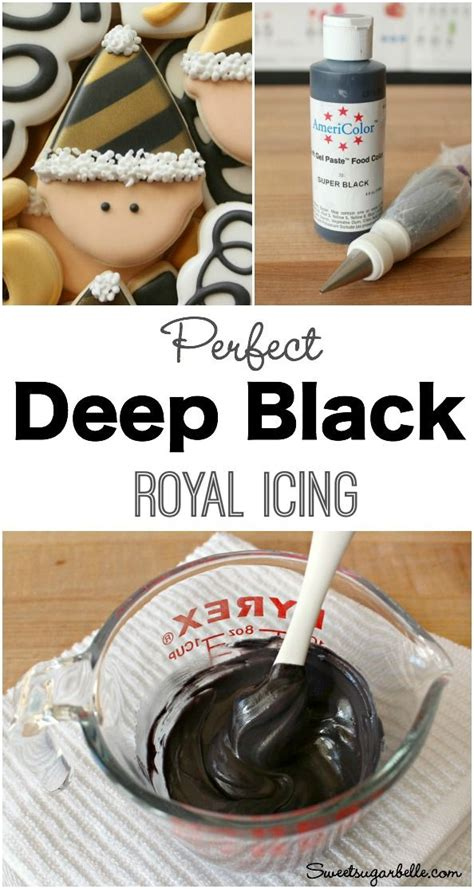 what colors make black icing best 25 decorated sugar cookies ideas on