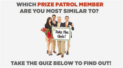Pch Prize Patrol 2017 - which prize patrol member are you most like take our quiz pch blog