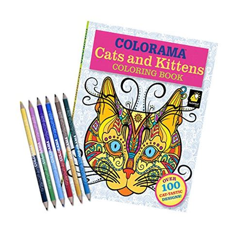 colorama coloring book review the best cats coloring pages see reviews and compare