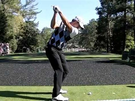 adam scott iron swing adam scott swing down the line youtube