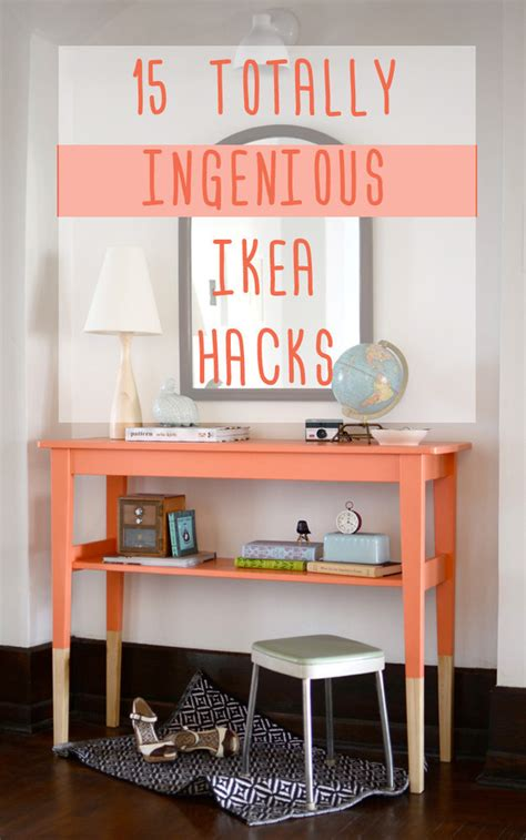 ikea furniture hacks 15 totally ingenious ikea hacks