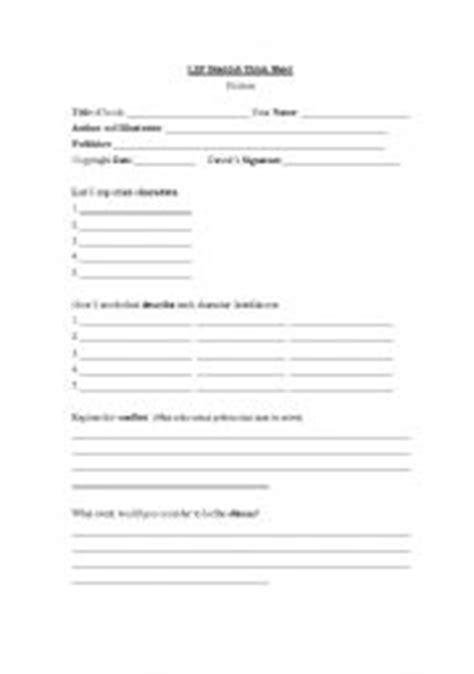 Book Club Worksheets by Teaching Worksheets School