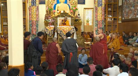 among the tibetans with a new introduction by graham earnshaw books his holiness the dalai lama begins three day teaching for