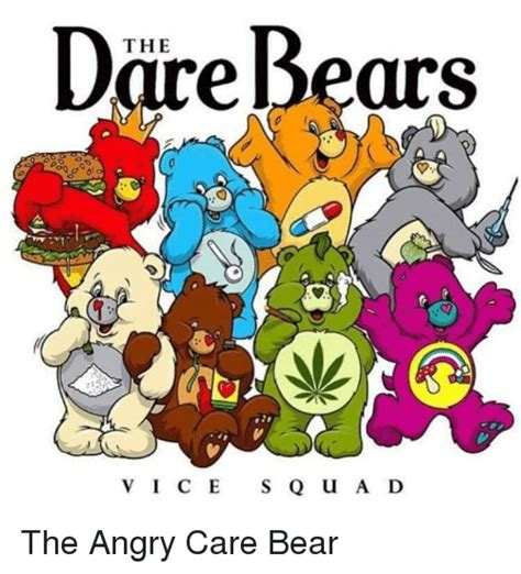 Care Bear Meme - ire bears the ce squad 2 d the angry care bear meme on