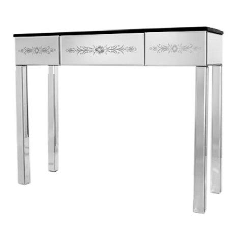 Venetian Mirrored Console Table Venetian Mirrored Console Or Dressing Table Free Delivery Coco54