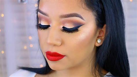 Makeup Morphe dramatic makeup look feat morphe 35o palette