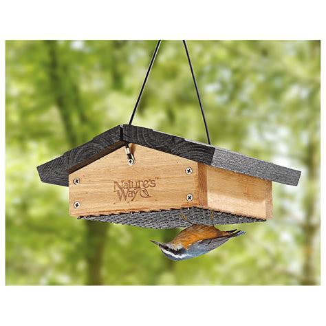 cedar upside down suet feeder 588834 bird houses