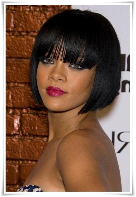 72 best images about bob hairstyles for black women on black hairstyles with bangs 2017 hairstyles