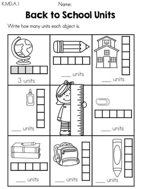 kindergarten activities measurement back to school kindergarten math worksheets kindergarten