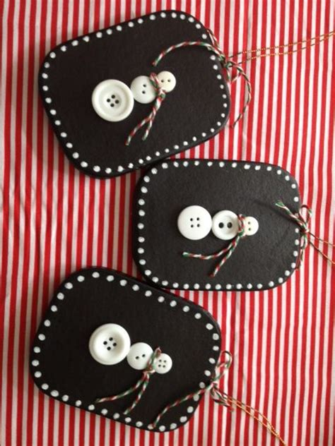 chalkboard paint yes or no button snowman ornaments and yes the background is