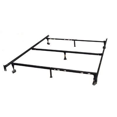Heavy Duty Metal Bed Frame Heavy Duty 7 Leg Metal Bed Frame Adjust To Fit Affordable Beds