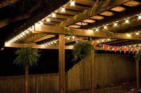 led patio string lights patio wall lights 10 ideal ways to light up your home