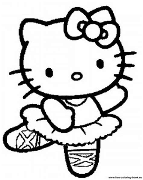 coloring page hello kitty ballerina coloring pages hello kitty coloring pages hello kitty