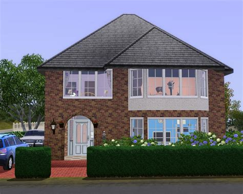 3 Bedroom House by Mod The Sims British House No Cc