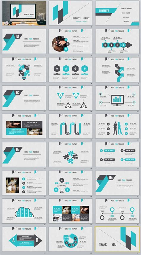 Powerpoint Template Business Report Gallery Powerpoint Template And Layout Powerpoint Report Template