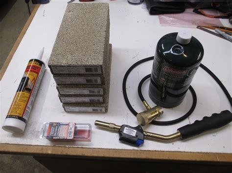 gas knife diy knifemaker s info center gas mini forge