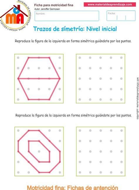 libro 365 actividades para desarrollar ejercicio 8 actividades escolares de trazos de simetr 237 a para desarrollar la memoria y la