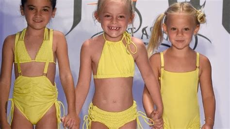 Launches Swimwear Collection At Miami Fashion Week by Child Models In Bikinis Spark Controversy At Fashion Show