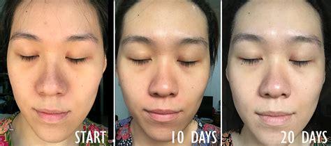 Masker Kefir Jeng Ella 4 hasil pemakaian masker kefir setelah 20 hari daily