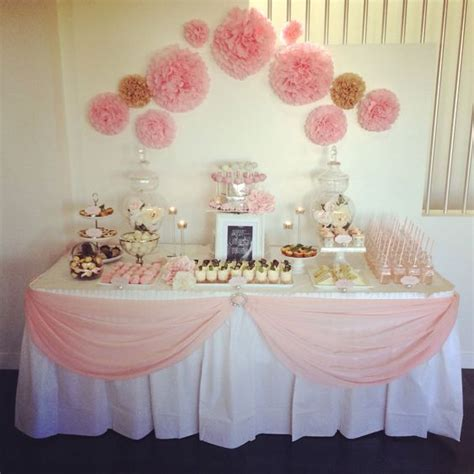 Baby Shower Table | how to avoid horrible baby shower games cinderella gowns