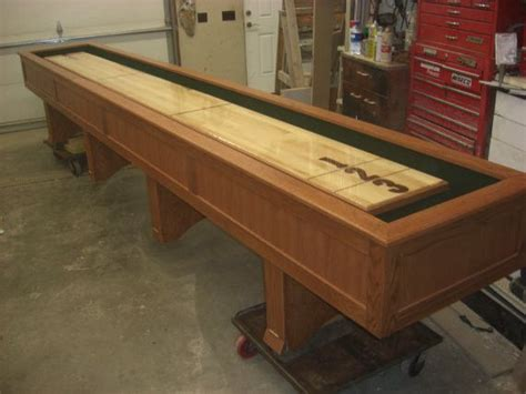 how to a shuffleboard table 25 best ideas about shuffleboard table on