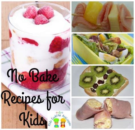 Experiments Using Kitchen Ingredients Easy No Bake Recipes