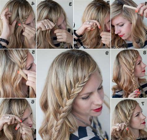 tutorial rambut terurai model rambut